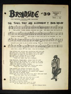Broadside # 39 - February 7, 1964