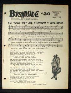 Broadside # 39 - February 7, 1964