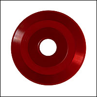 Red Vinyl 45 RPM