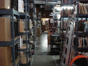The Azio Media book & music warehouse