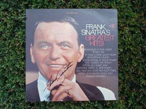 Frank Sinatra's Greatest Hits - Signed by Frank Sinatra