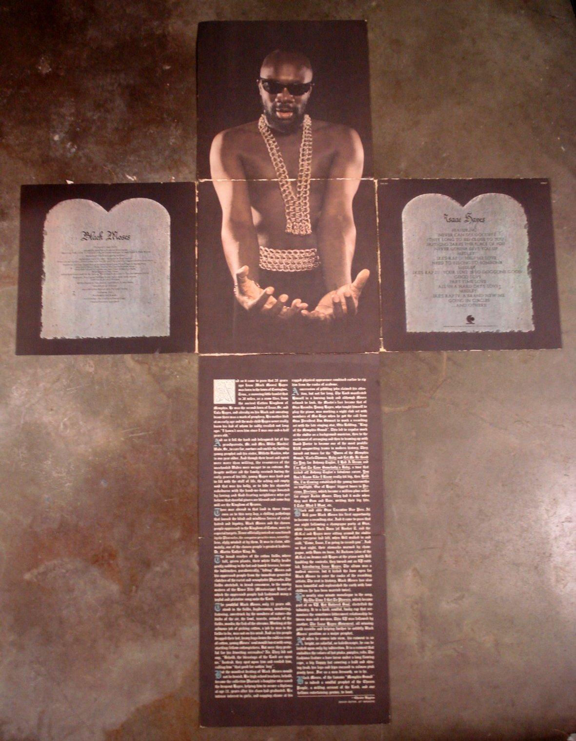 Isaac Hayes The Black Moses Album Azio Media Rare