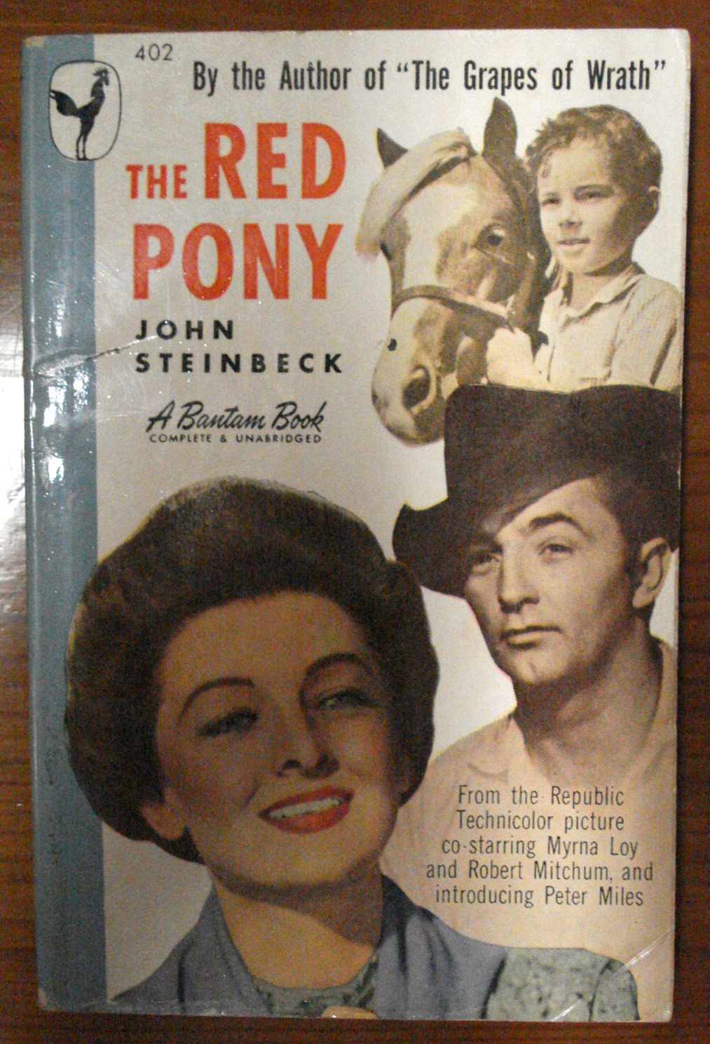 a review of john steinbecks the red pony Buy a cheap copy of the red pony book by john steinbeck  i read some of  these reviews and could not believe how unrealistic some of these people are.