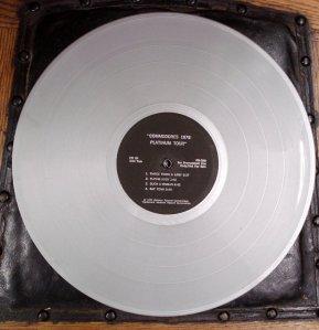 The Commodores Platinum Tour 180 gram album