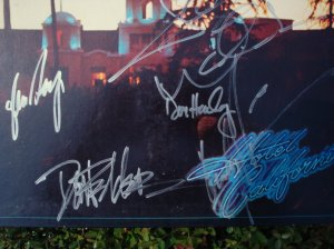The Eagles - Band Members Autographs