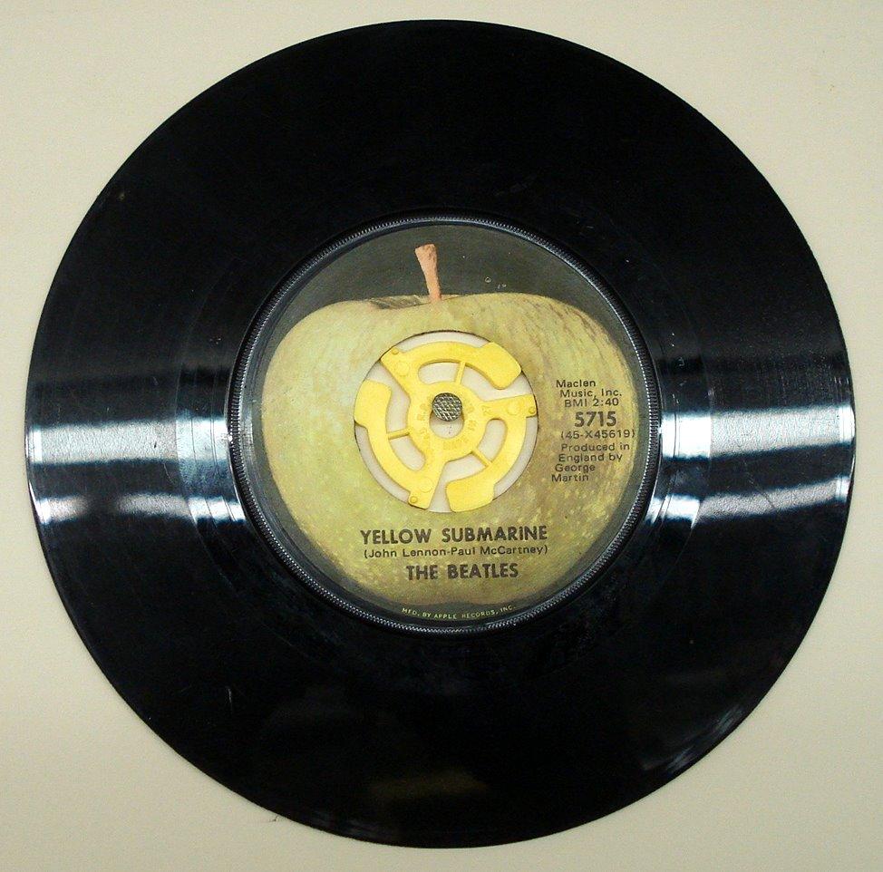 Beatles 45 Azio Media Rare Books Vinyl Ephemera