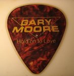 Gary Moore guitar pick shaped disc