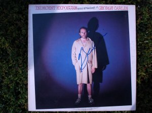 """Indecent Exposure"" Album - Signed by a young George Carlin"