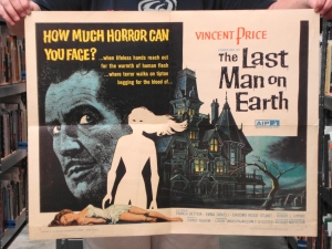 """The Last Man on Earth"" Lobby Card Set"
