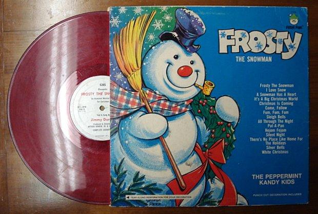 Frosty The Snowman Vinyl Lp Record Azio Media Rare