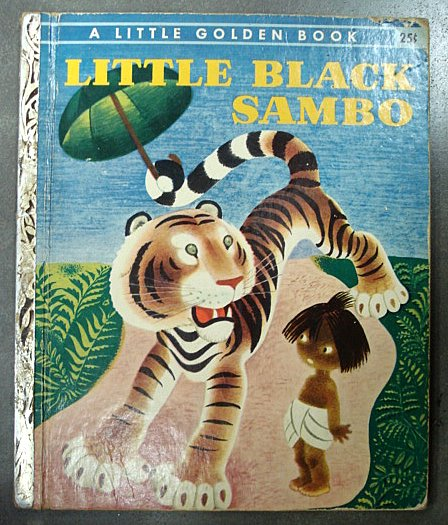 Little Black Sambo Little Golden Book Edition Azio