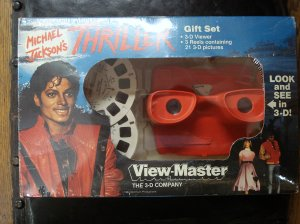 "3-D View-Master Michael Jackson ""Thriller"" Model"