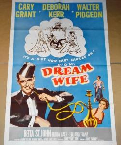 """""""Dream Wife"""" Original Movie Poster"""