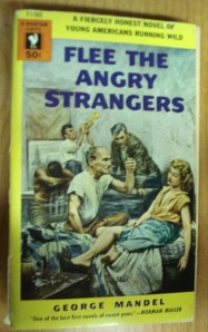 "Bantam Paperback - ""Flee the Angry Strangers"" by George Mandel"