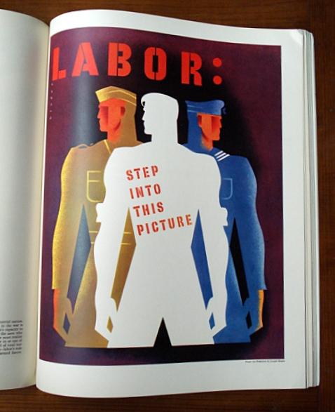 Fortune Magazine Art Poster Portfolio 1941 Azio