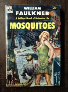"Steamy Cover Illustrations for ""Mosquitos"" by William Faulkner -  Dell #708"
