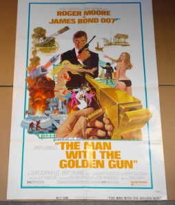 "Original One-Sheet Film Poster for ""Man with the Golden Gun"""
