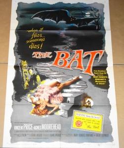 "Original ""The Bat"" Film Poster - 1959"
