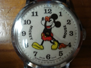 Swiss-Made Vintage Mickey Mouse Wristwatch - Circa 1965