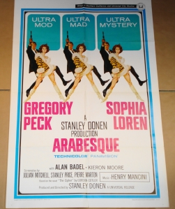 "Original ""Arabesque"" Film Poster"