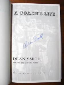 """A Coach's Life"" by Dean Smith - Signed by Dean Smith"