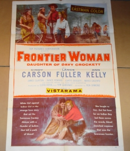 """Frontier Woman"" Original Film Poster"