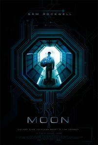 """Teaser Poster for """"Moon"""" - 2009"""