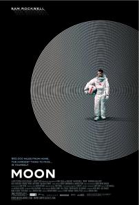 """Duncan Jones' """"Moon!"""" - Film Poster 2009"""