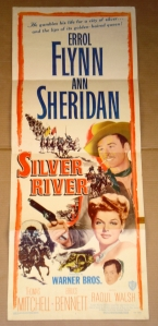 "Original Film Poster ""Silver River"""