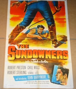 """The Sundowners"" - Original Film Poster"