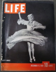 life magazine betty grable