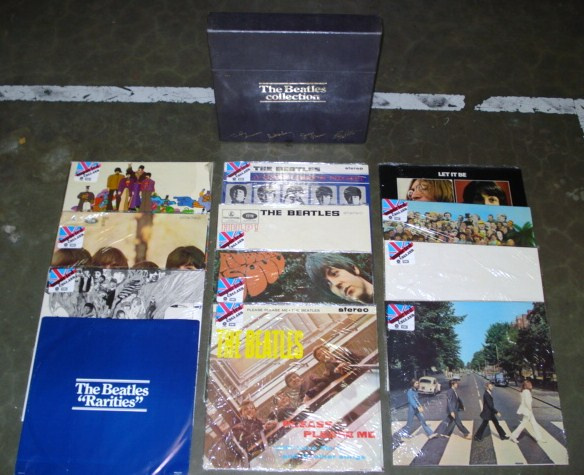 Rare Beatles Collection Limited Edition Vinyl Box Set 1978 Azio Media Rare