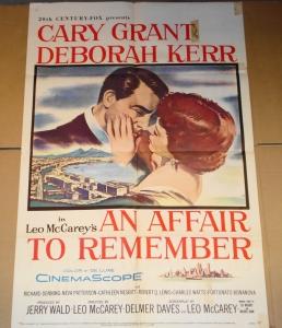 """""""An Affair to Remember"""" Original Film Poster - Starring: Cary Grant & Deborah Kerr"""