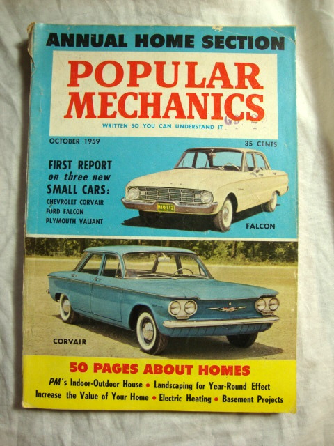 Popular Mechanics Magazine Azio Media Rare Books Vinyl