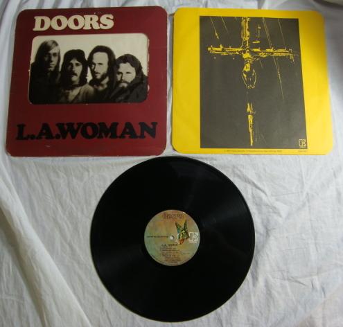 The Doors La Woman Vinyl Lp 1971 Eks 75011 Azio Media