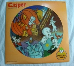Casper The Friendly Ghost Vinyl Record Picture Disc
