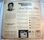 Ronald Reagan Recommends vinyl record 1