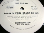 THE CLASH, TRAIN IN VAIN vinyl 1