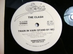 THE CLASH, TRAIN IN VAIN vinyl