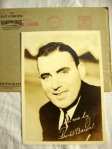 Ed O'Brien Authentic Signed Autograph