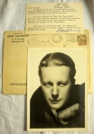 Gene Raymond Authentic Hand-Signed Autograph