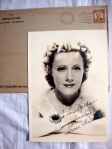 Irene Dunne Authentic Hand-Signed Autograph