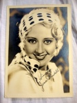 Joan Blondell Authentic Autographed Vintage 5 x 7 Matte Photo