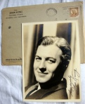 John King Authentic Hand-Signed Autograph Vintage