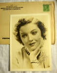 Myrna Loy Authentic Hand-Signed Autograph