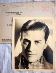 Ray Milland Authentic Hand-Signed Autograph