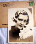 Ruby Keeler Authentic Hand-Signed Autograph