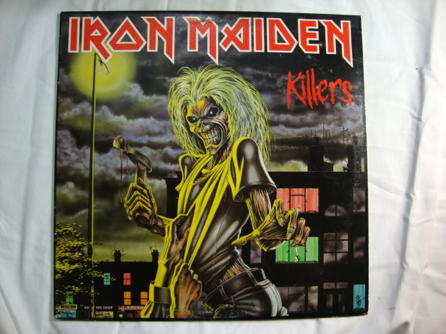 Iron Maiden Vinyl Album Covers Killers Azio Media