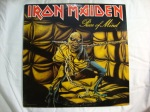 Iron Maiden - Vinyl Album Covers - Piece of Mind