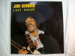JIMI HENDRIX Last Night vinyl record